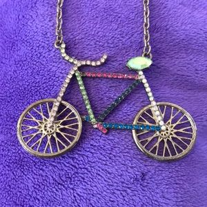 GOLD, COLORFUL BIKE 🚲 NECKLACE